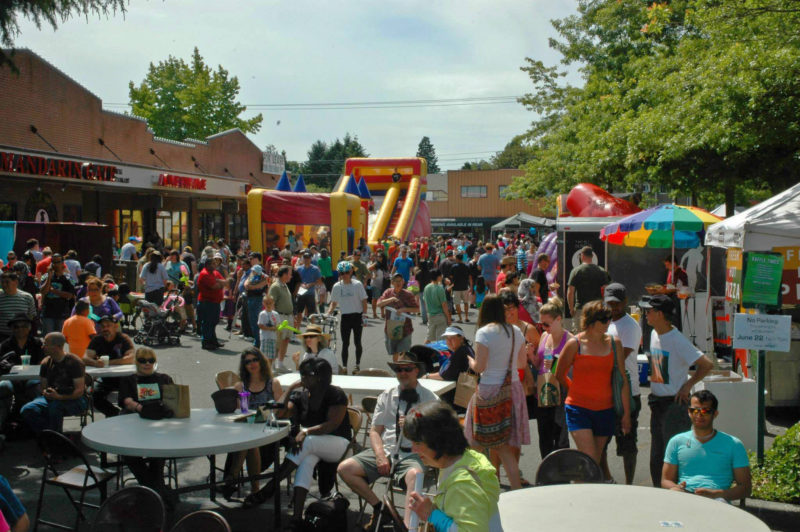 North Seattle block party