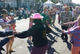 Contra dance in the Inner Sunset