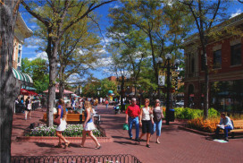 The Pearl Street Mall, Boulder, Colorado