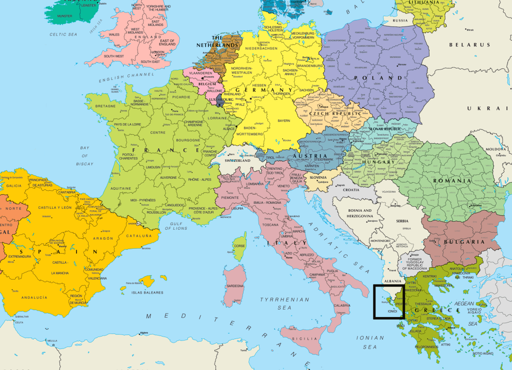 central_europe_political_map b