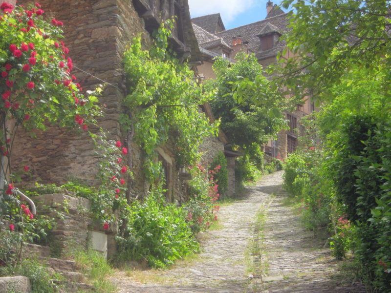 Conques, France - street