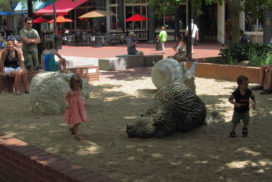 Pearl Street Mall - child play area