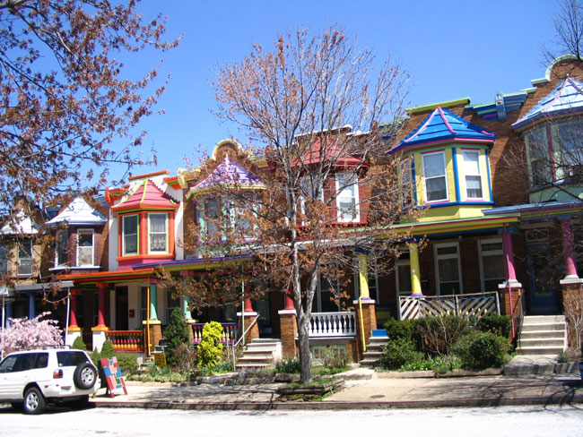 Baltimore row house