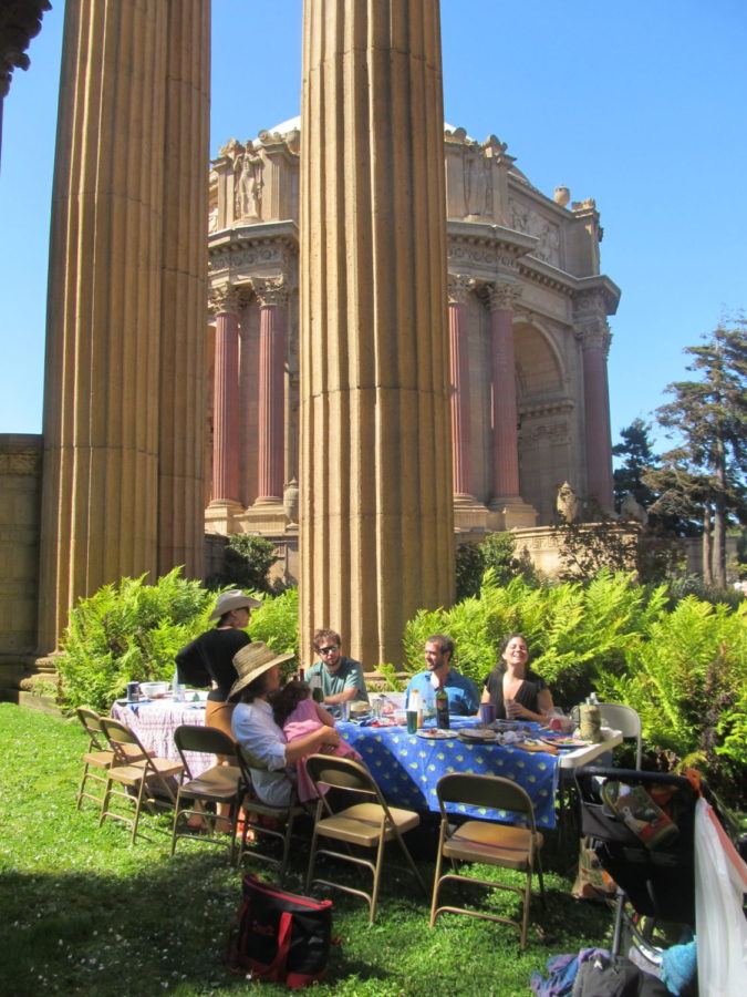 Palace of Fine Arts lunch 2