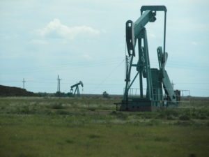 West Texas oil
